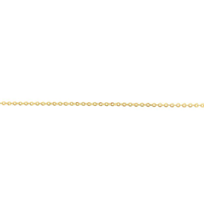 Corrente em Ouro 18k/750 Bailarina Mini com 40cm