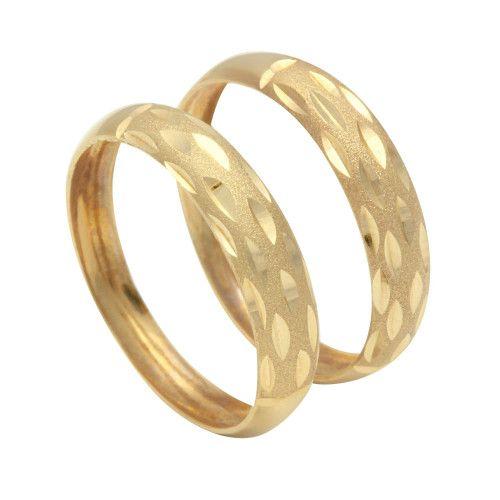 Anel em Ouro 18k/750 Par Aparador Diamantado