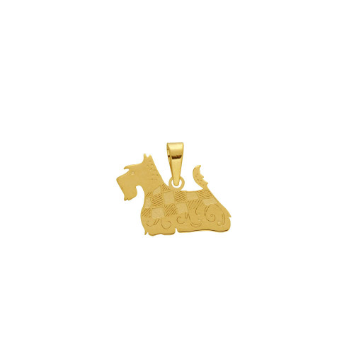 Pingente em Ouro 18k/750 Pet York Shire