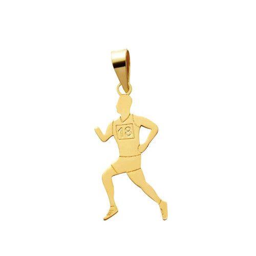 Pingente em Ouro 18k/750 Maratonista
