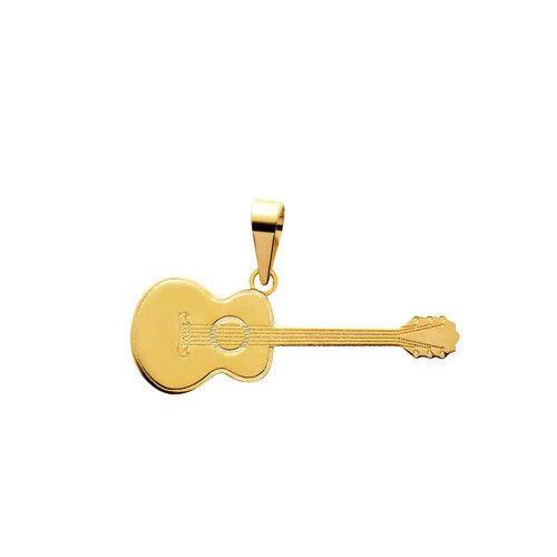 Pingente em Ouro 18k/750 Violão