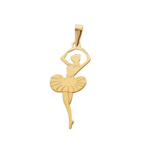 Pingente em Ouro 18k/750 Bailarina