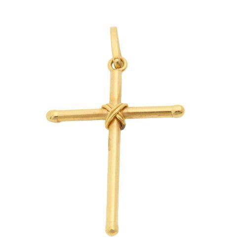 Pingente em Ouro 18k/750 Cruz 17mm x 24mm