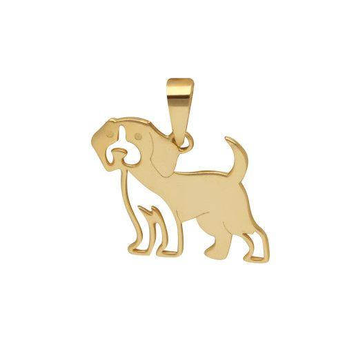 Pingente em Ouro 18k/750 Pet Beagle