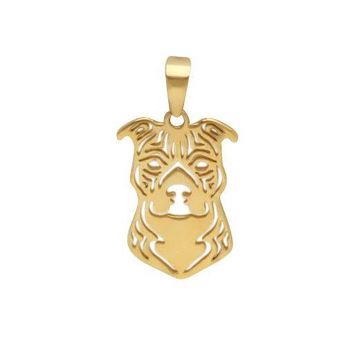 Pingente em Ouro 18k/750 Pet American Terrier