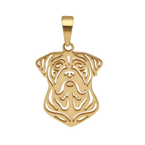 Pingente em Ouro 18k/750 Pet Mastiff