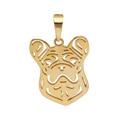 Pingente em Ouro 18k/750 Pet Bulldog Francês