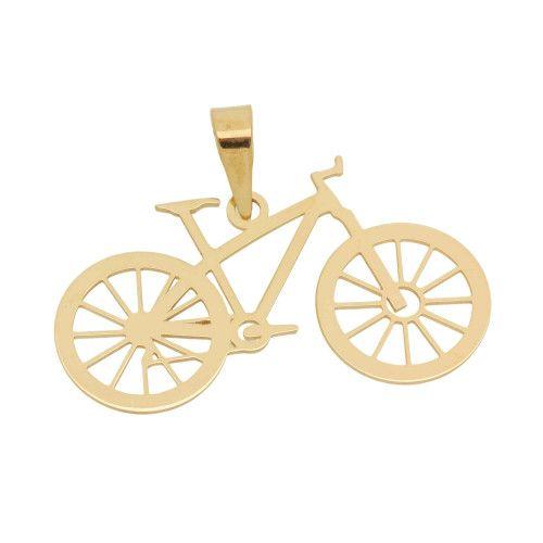 Pingente em Ouro 18k/750 Bicicleta