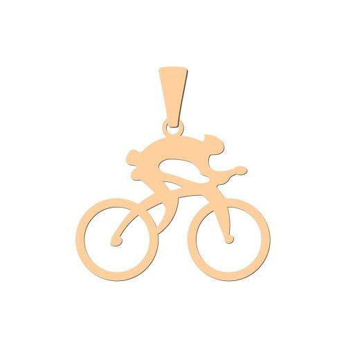 Pingente em Ouro 18k/750 Ciclista