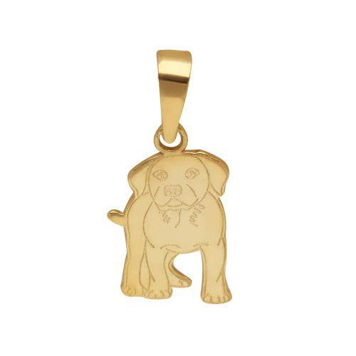 Pingente em Ouro 18k/750 Pet Labrador