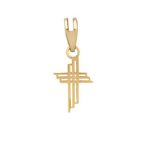 Pingente em Ouro 18k/750 Cruz Pequena