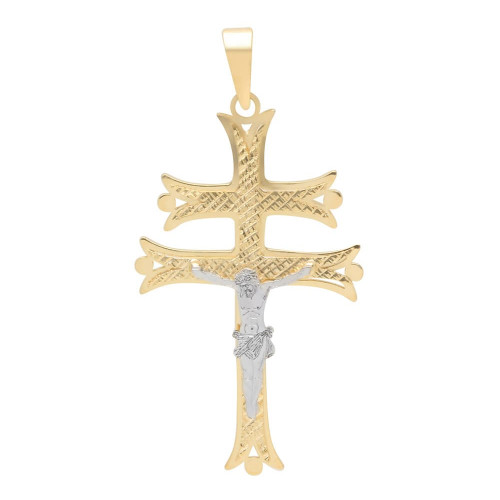 Pingente em Ouro 18k/750 Crucifixo