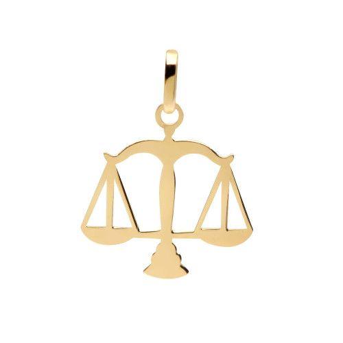 Pingente em Ouro 18k/750 Profissão Direito Simbolo