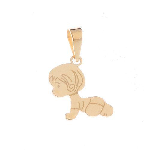 Pingente em Ouro 18k/750 Bebê Menino