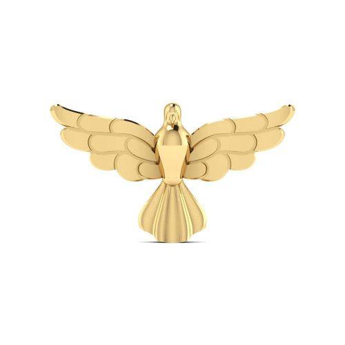 Pingente em Ouro 18k/750 Espírito Santo Pequeno