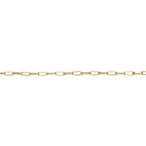 Pulseira em Ouro 18k/750 Malha Cartier 21cm