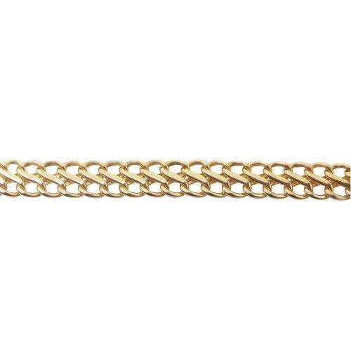 Pulseira em Ouro 18k/750 Lacraia Média 19cm
