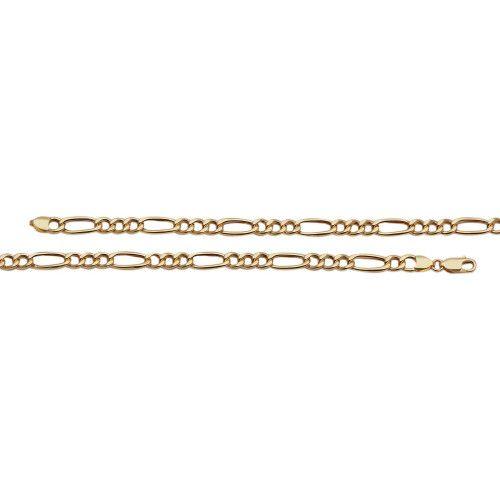 Pulseira em Ouro 18k/750 3x1 21 cm