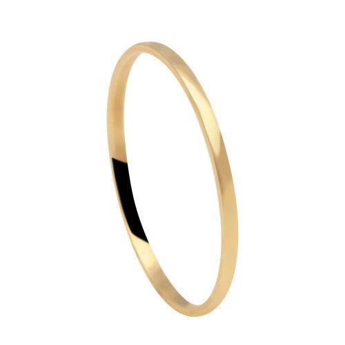 Aliança em Ouro 18k/750 Lisa Fina 1.1mm
