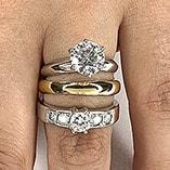 Anel Solitário - Casamento