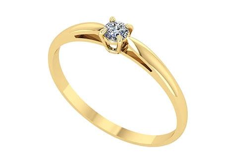 Solitário: anel para ocasiões especiais