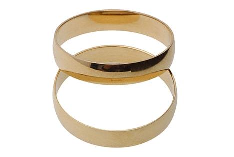 Como escolher par de alianças de casamento?
