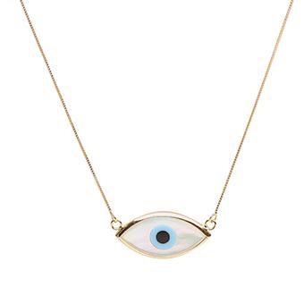 Gargantilhas com olho grego