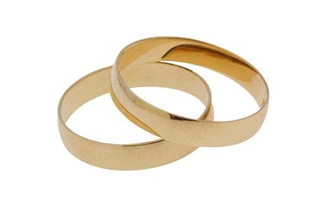 Modelos de aliança de casamento